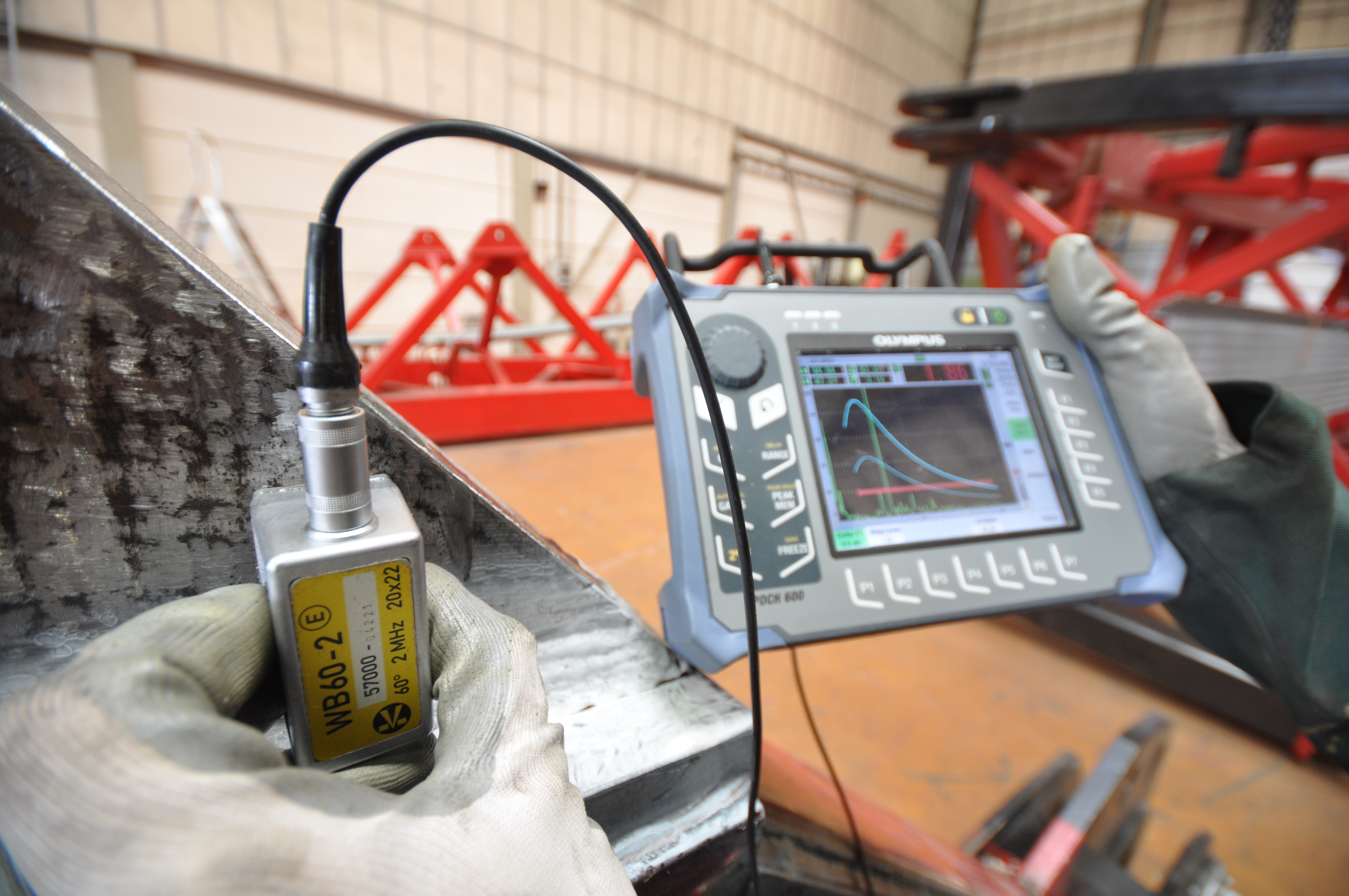 ultrasonic testing Radiographic and ultrasonic weld inspection are the two most common methods of non-destructive testing (ndt) used to detect discontinuities within the internal structure of welds.